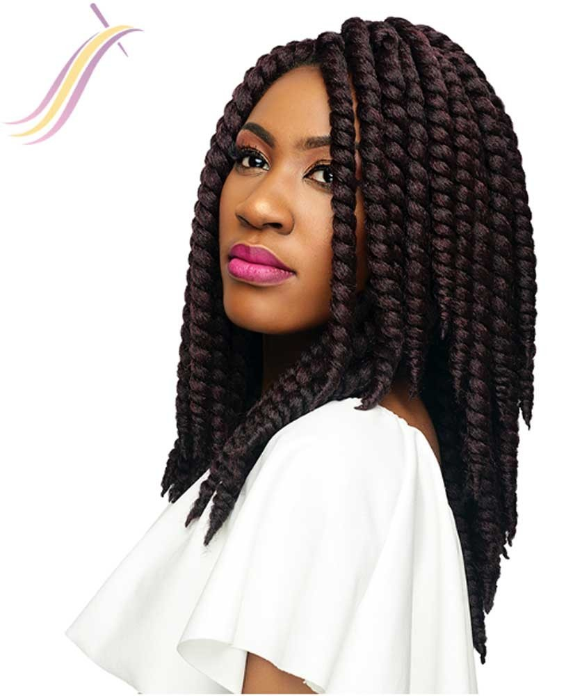 Crochet braids Himba Twist 12 99J#