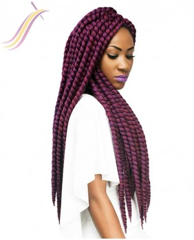 Mèches Himba Twist large 24 PURPLE#