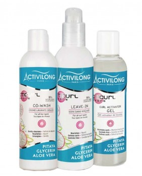 Pack Wash and GO activilong acticurl