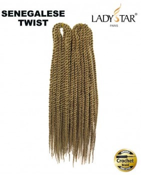 Meche pour crochet braids Senegalese Twist 18 27#