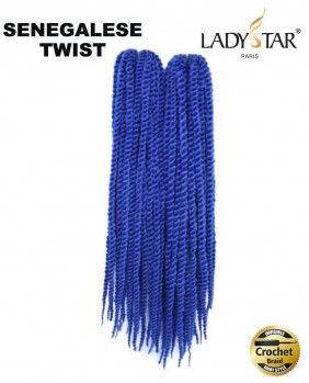 Meche pour crochet braids Senegalese Twist 18 RB#