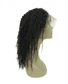 Full lace wig kinky curly 18 - profil d