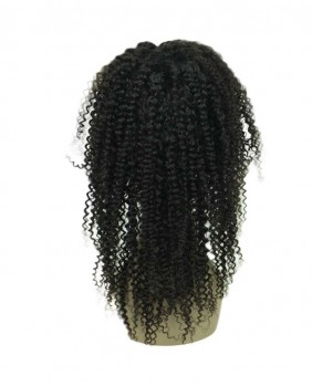 Full lace wig kinky curly 18 - dos