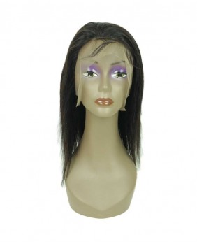 360 lace wig naturel lisse - face
