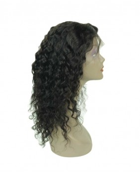 perruque lace wig deep wave