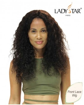 Lace wig naturel frisé Megan - perruque indetectable